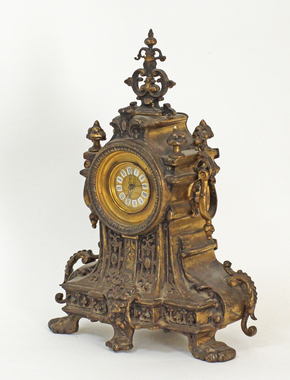 German mantle time piece. - Image 5 of 5