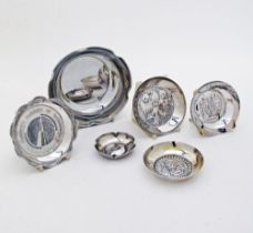 Cypriot silver dishes.