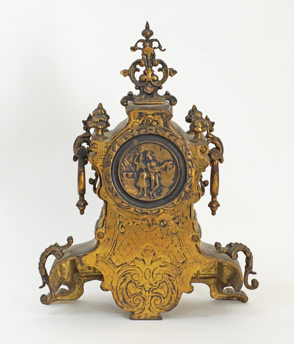 German mantle time piece. - Image 2 of 5