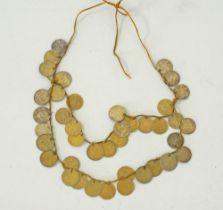 Ottoman bridal coin necklace