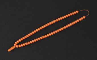 Vintage prayer's bead