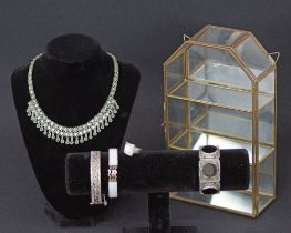 Vintage silver and costume jewelry