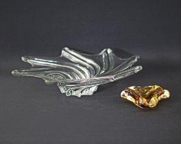 Vintage handmade glassware