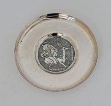 Stephanides silver ashtray