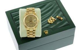Rolex Day-Date Ref. 18238 Automatik 750/- Gelbgold