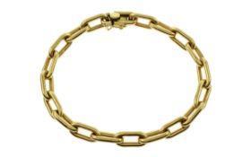 Armband 38.61 g 750/- Gelbgold Laenge 21.00 cm