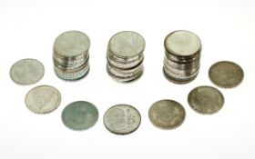 Div. Silbermuenzen 53x10 DM