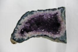 große Amethyst-Druse