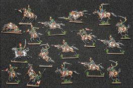France - Cavalerie légère. Chevau-légers français. Le 6ème régiment à la charge. 1 trompette, 16 sol