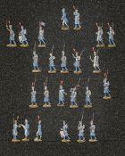 France - Garde impériale. Infanterie de la Jeune Garde. Les fusiliers-grenadiers en marche, capote e