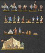 France - Cavalerie. Bivouac de l'intendance, les cantinières, les mules, commissaires aux vivres et
