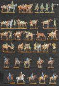 France - Cavalerie de ligne et légère. Le 16ème dragons en tirailleurs. Le 26ème à la halte, quelque
