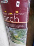 Boxed Garden Arch