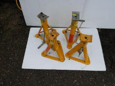 2x Pairs of Axle Stands