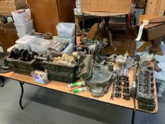 Mini Engine/Engine Parts - Found in the Same Garage as Lot 20A