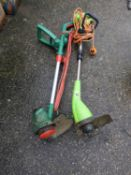 2x Electric Strimmers