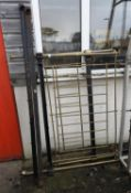 Brass and Iron Bed Frame