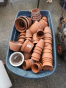 Terracotta Pots and Barrow