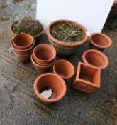Quantity of Terracotta Plant Pots