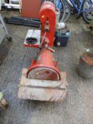 Nu-Tool Sanding Machine - Seen Working