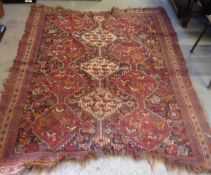 Hand Knotted Rug - 188cm x 140cm
