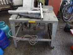 Table Saw - Seen Working