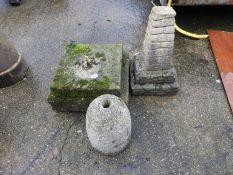 Concrete Pedestal, Granite Pedestal etc