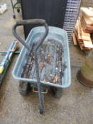 Plastic Garden Trolley - A/F