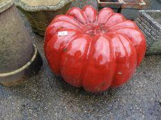 Glazed Garden Pumpkin