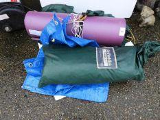 Tent, Camping Mat etc
