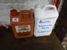 Creosote and Woodworm Killer