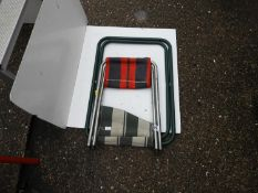2x Folding Seats