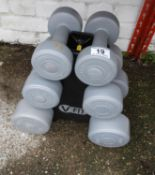 Weights on Stand