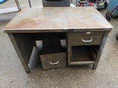 Metal Industrial Desk