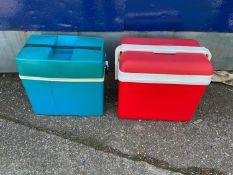2x Picnic Cold Storage Boxes
