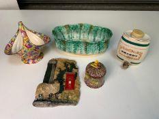 Wade Sherry Barrel, Beswick Bowl and Honey Pot etc