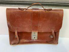 Leather Brief Case
