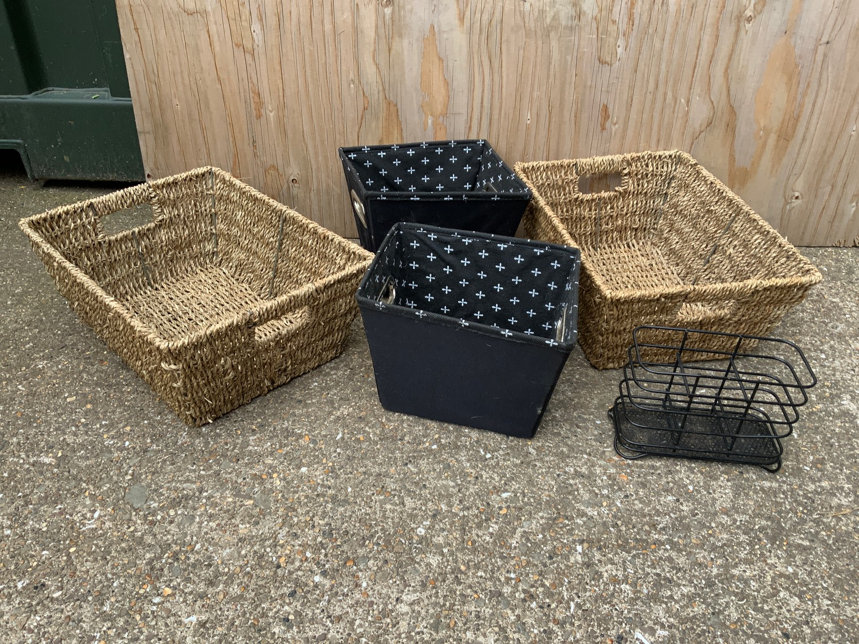 Baskets, Storage Boxes