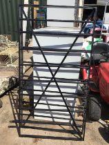 Pair of Metal Gates H 160cm x W 84cm Each