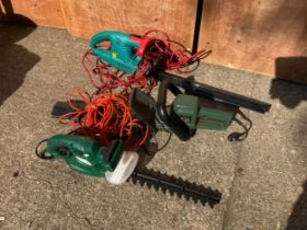 3 x Hedge Trimmers