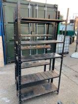 Metal Workshop Shelves