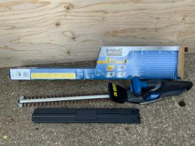 MacAllister Hedge Trimmer - Charger in Office