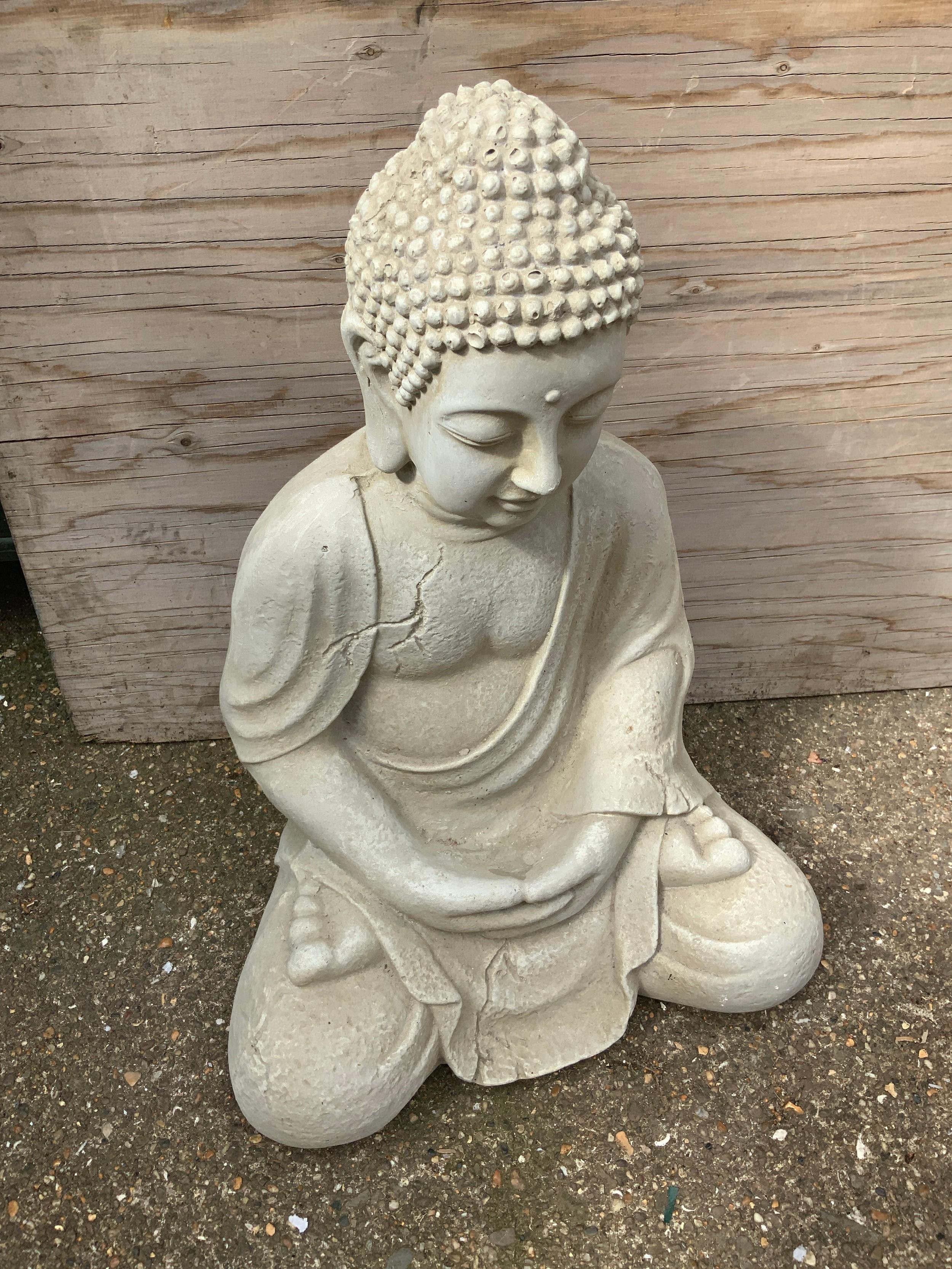 Resin Buddha
