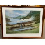 Framed Print Skye Boat Train