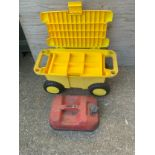 Storage Trolley and Jerry Can
