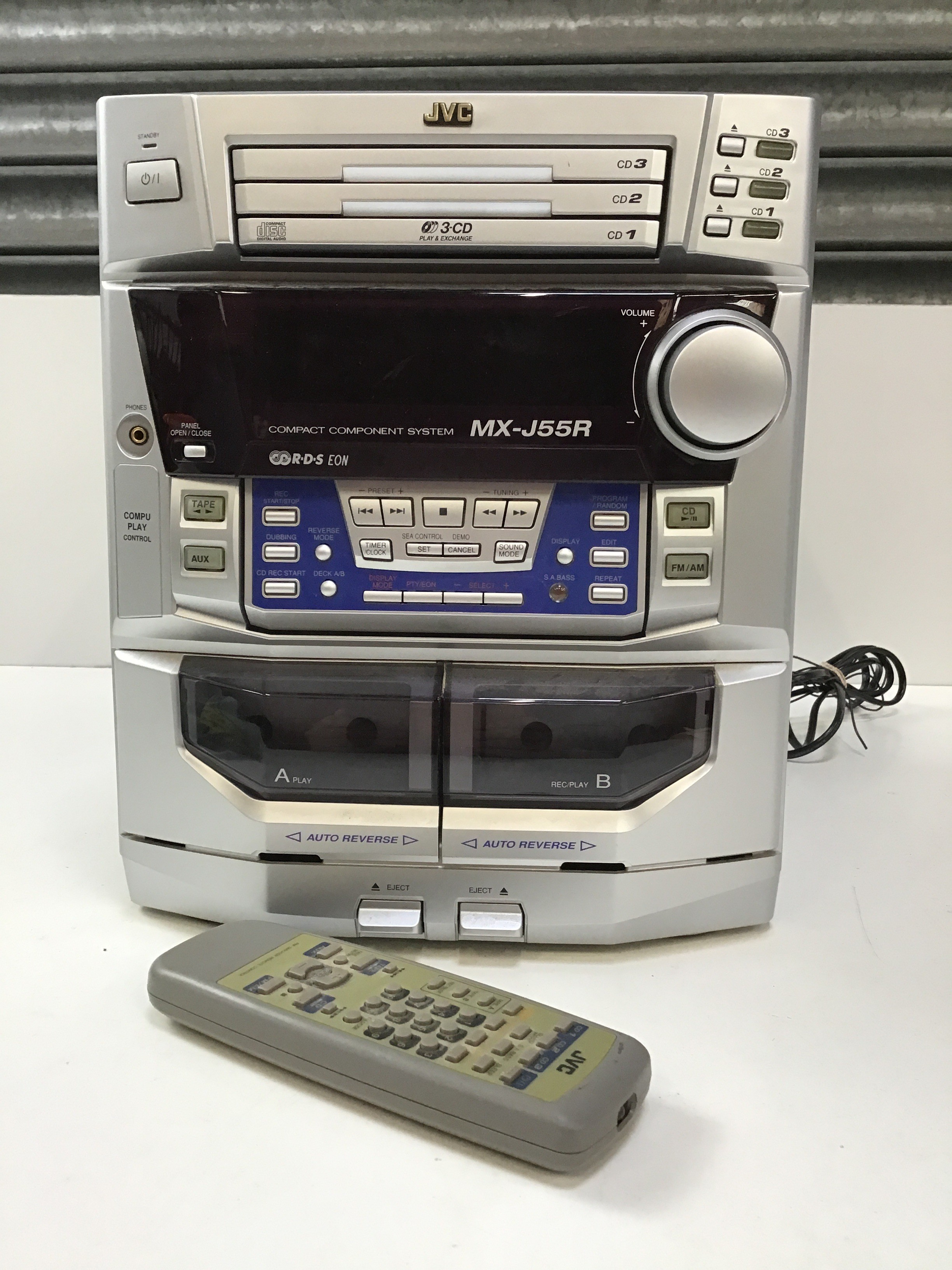 JVC Compact Component System with Remote