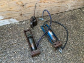 Foot Pumps and Oil Can