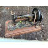 Hand Cranked Singer Sewing Machine