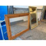 2x Framed Mirrors