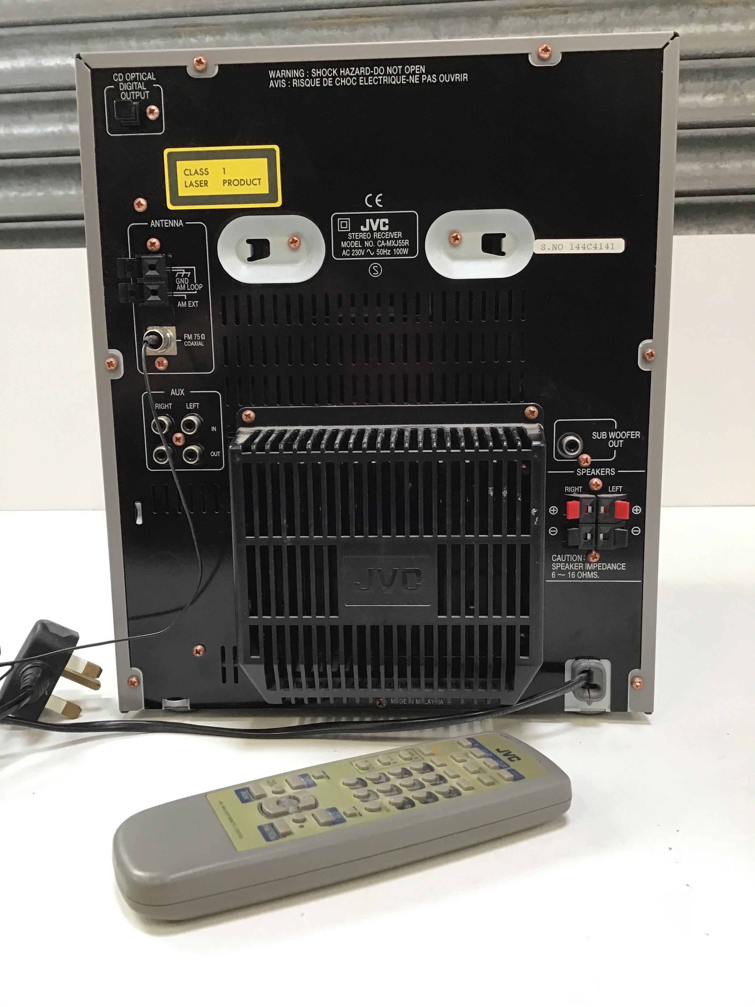JVC Compact Component System with Remote - Image 2 of 2